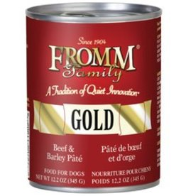 Fromm Fromm Gold Beef & Barley Pate Dog Food