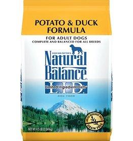 Natural Balance Natural Balance L.I.D. Dog Food-Grain-Free Potato & Duck 26#