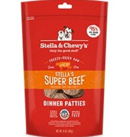 Stella & Chewys Stella & Chewy's Freeze Dried Dinner Patties for Dogs - Stella's Super Beef