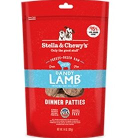 Stella & Chewys Stella & Chewy's Freeze Dried Dinner Patties for Dogs - Dandy Lamb