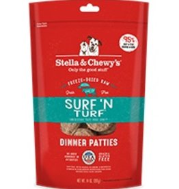 Stella & Chewys Stella & Chewy's Freeze Dried Dinner Patties for Dogs - Surf 'N Turf