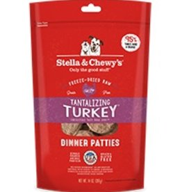 Stella & Chewys Stella & Chewy Freeze Dried Dinner Patties for Dogs - Tantalizing Turkey