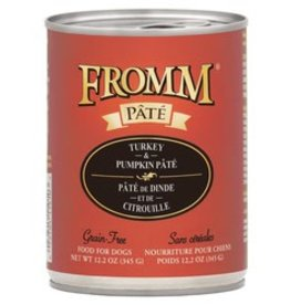 Fromm Fromm 12.2oz Dog GF Turkey & Pumpkin Pate Can 12/CASE