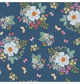 Wild Bouquet C7470-Navy