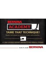 Bernina Academy