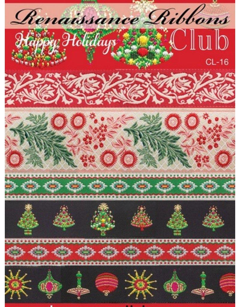 Happy Holidays Ribbon Pack