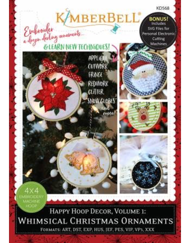 Happy Hoop Decor Volume 1 Whimsical Christmas Ornaments