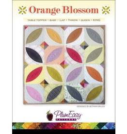 Orange Blossom Quilt Pattern