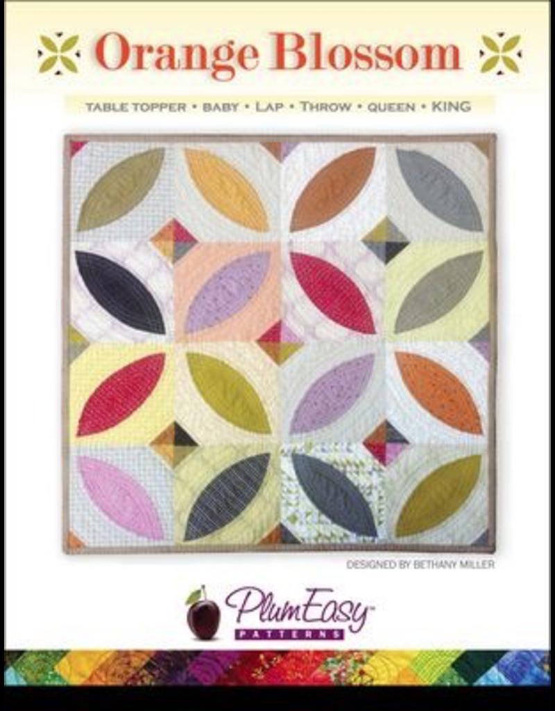 Orange Blossom Quilt Pattern