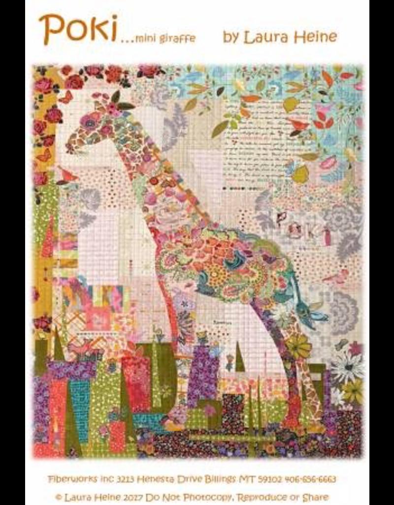 Poki Mini Giraffe Collage
