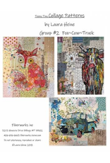 Teeny Tiny Collage Pattern Group 2-Includes Old Blue, Freida, and Abilene
