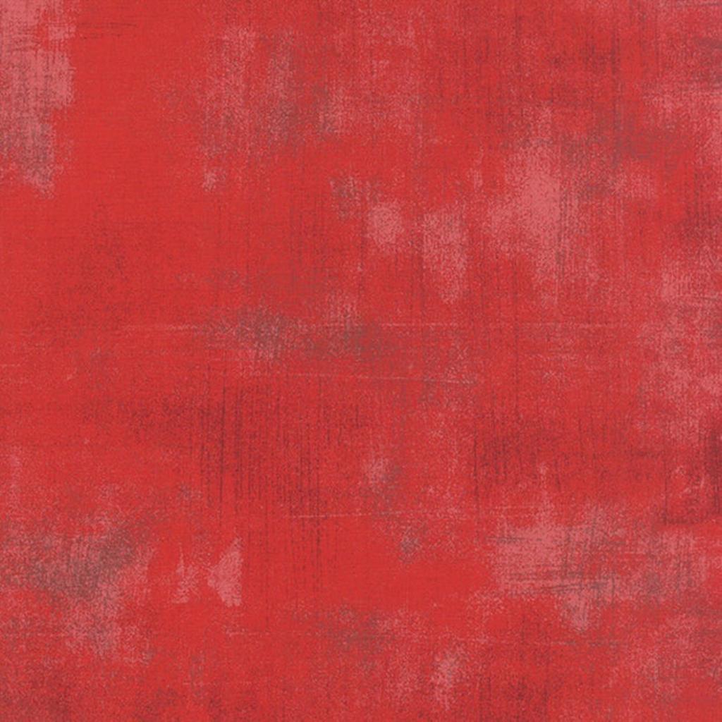 Moda Grunge Basics- 30150-265 Cherry