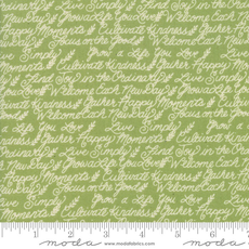 Moda Cultivate Kindness- 19933-17 Moss Green