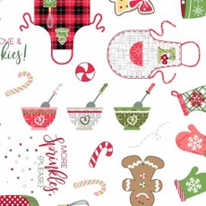 Kimberbell We Whisk You A Merry Christmas- 9670-UW