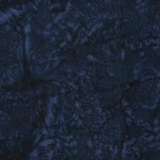Batik Textiles Batik Cotton Blender-Navy Blue