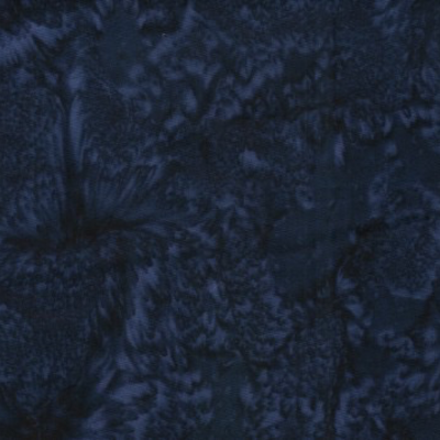 Batik Textiles Batik Cotton Blender-Navy Blue