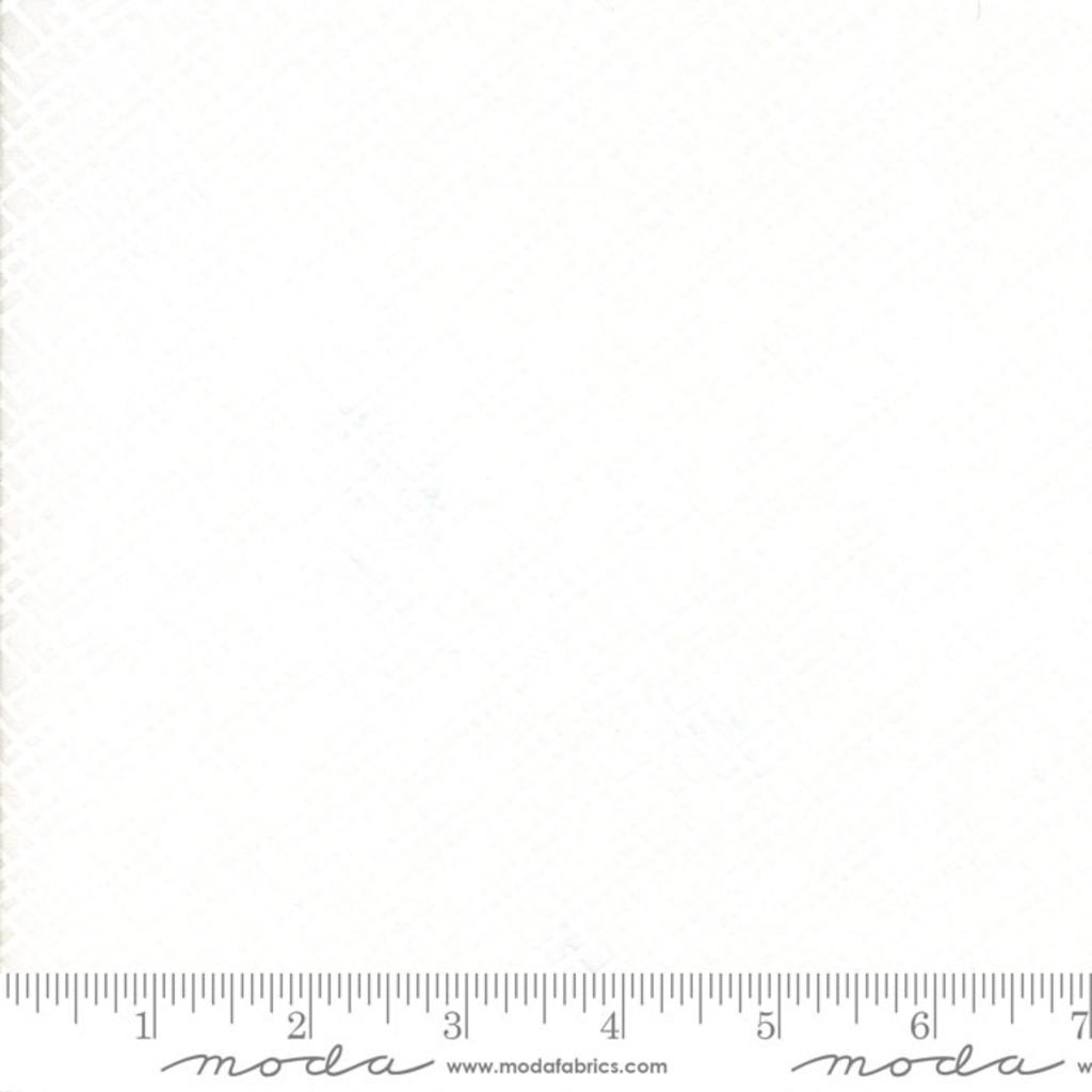 Moda Muslin Mates Trellis White-33138-11