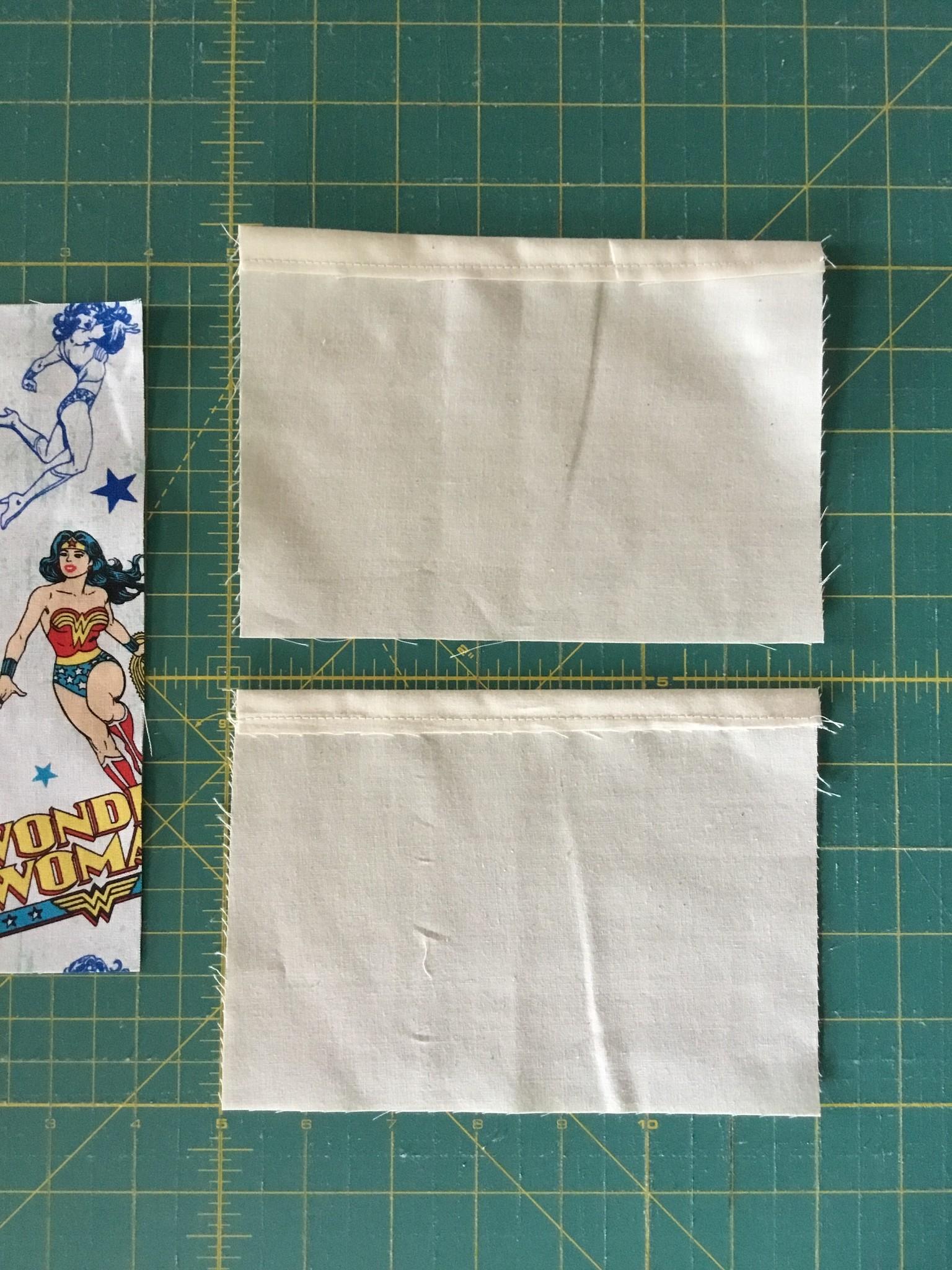 Fabric Mask Lining Folds