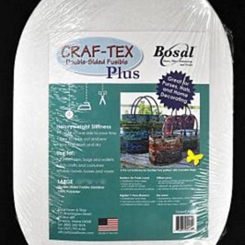 Bosal Craf-Tex Plus 2 Ovals Large Bag