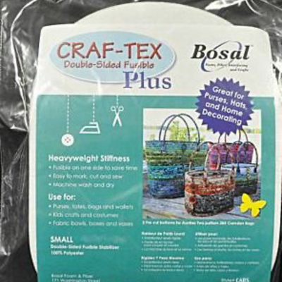 Bosal Craf-Tex Plus 2 Ovals Small Bag