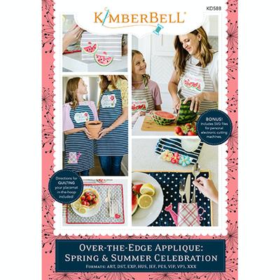Kimberbell Over The Edge Applique- Spring/Summer CD