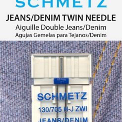 Schmetz Schmetz Needles Denim Twin 4.0/100