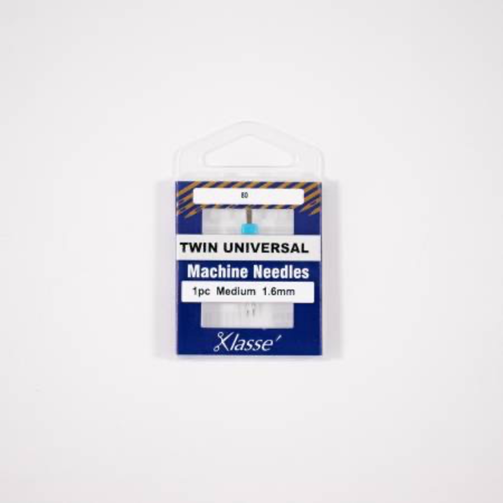 Klasse Klasse Needles- Twin Universal 1.6mm/80