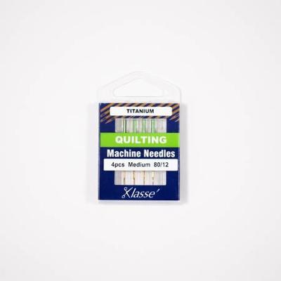 Klasse Klasse Needles- Titanium-Quilting 80/12