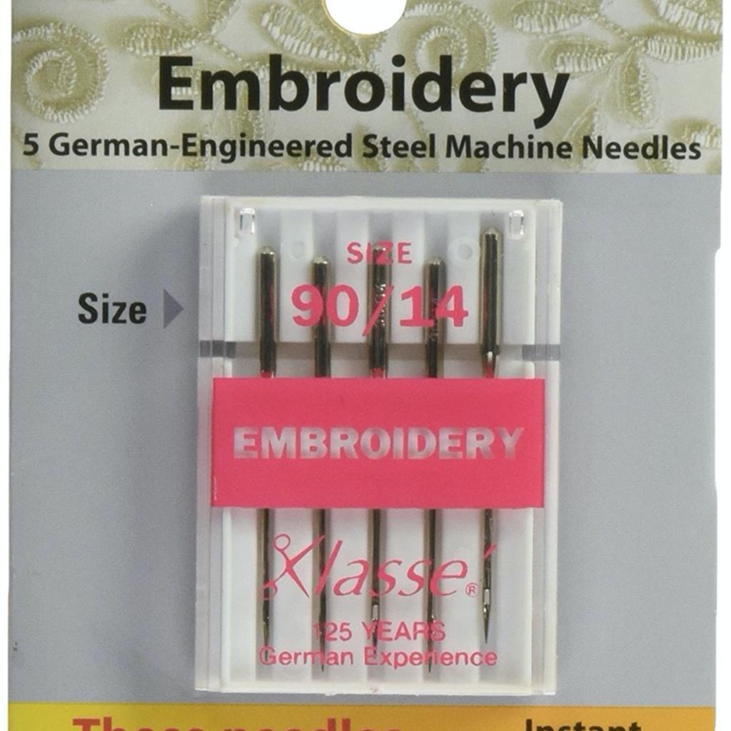 Klasse Klasse Needles- Embroidery 90/14