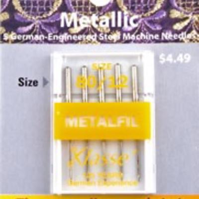 Klasse Klasse Needles- Metallic 80/12