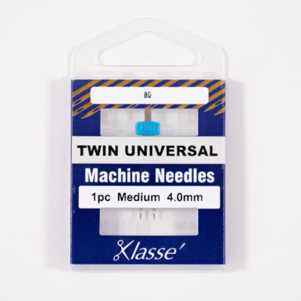 Klasse Klasse Needles- Twin Universal 4.0mm/80