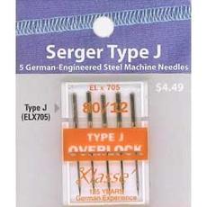 Klasse Klasse Needles- ELX705- 80/12 Serger Type J