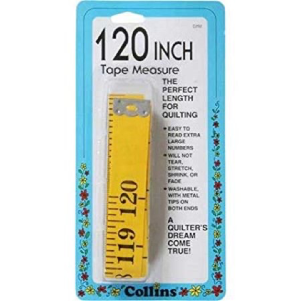 Collins Big Yellow Tape Measure-120""