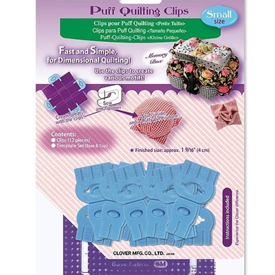 Clover Needlecraft Inc. Puff Quilting Clips- Small