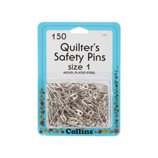 Collins Quilter's Safety Pins Size 1
