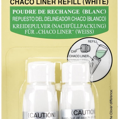 Clover Needlecraft Inc. Chaco Liner Refill White