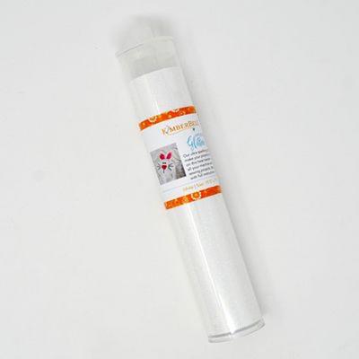 Kimberbell Applique Glitter Sheet - White