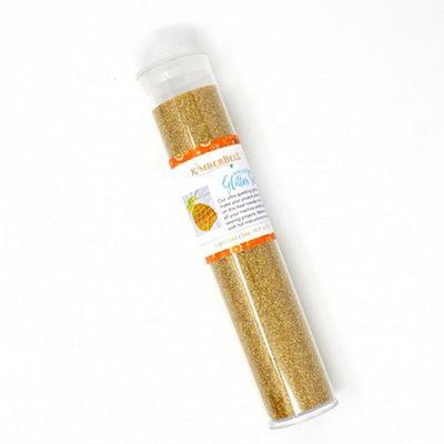 Kimberbell Applique Glitter Sheet - Light Gold