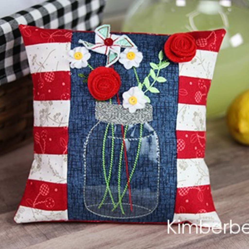 Kimberbell Bench Buddies- May, June, July, August CD