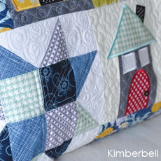 Kimberbell Home Sweet Home Bench Pillow CD