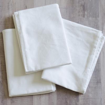 Kimberbell Tea Towels 3 Count- White
