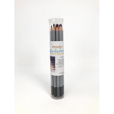 Kimberbell Watercolor Pencil Set- Jewel Tones