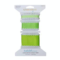 Kimberbell Crocheted Edge Trim-Lime Green