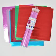 Kimberbell Mylar Sheets, Jewel Tones 7.5″ x 7.5″ Pack of 12