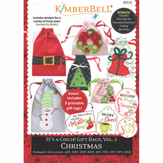Kimberbell It's a Cinch! Gift Bags, Vol. 2 Christmas CD