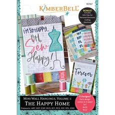 Kimberbell Mini Wall Hangings Vol. 1- The Happy Home CD