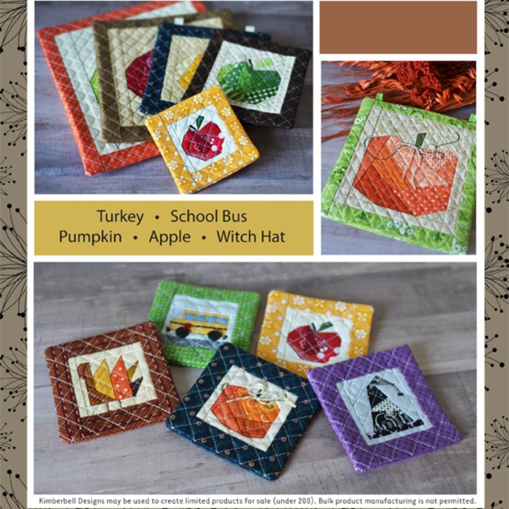 Kimberbell Machine Embroider by Number- Autumn Collection CD