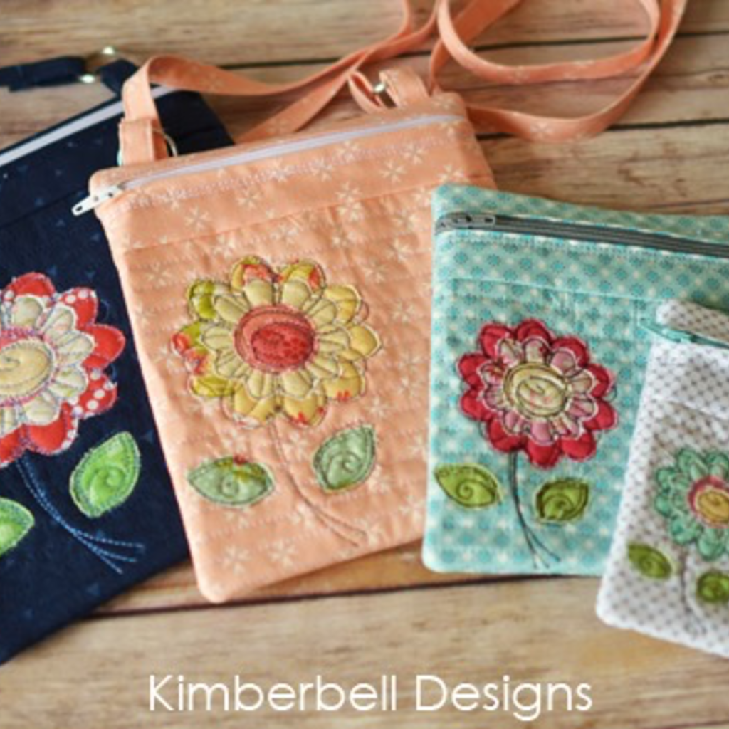 Kimberbell Crossbody Bag Trio, Volume 2: Botanical Collection CD