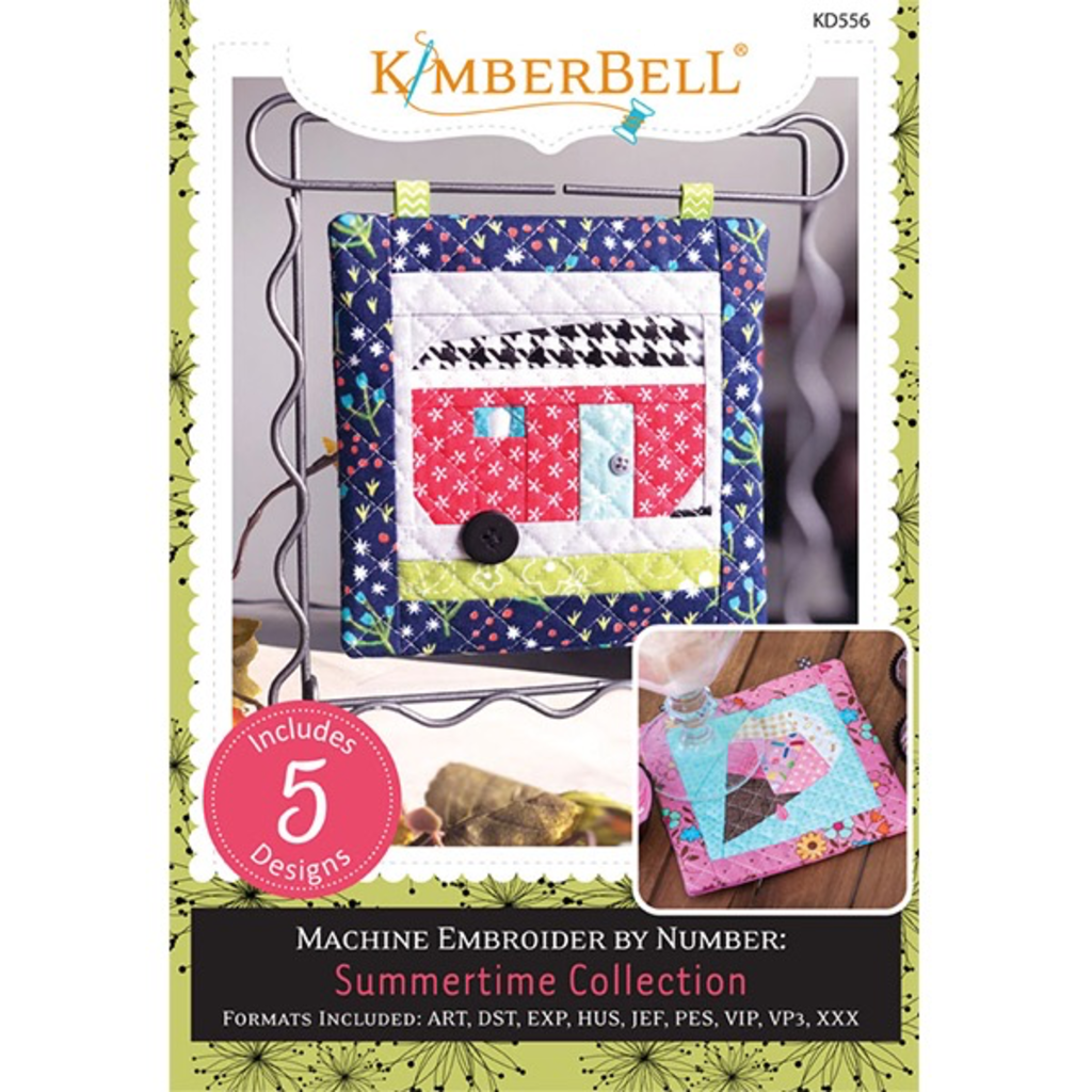 Kimberbell Machine Embroider by Number- Summertime CD