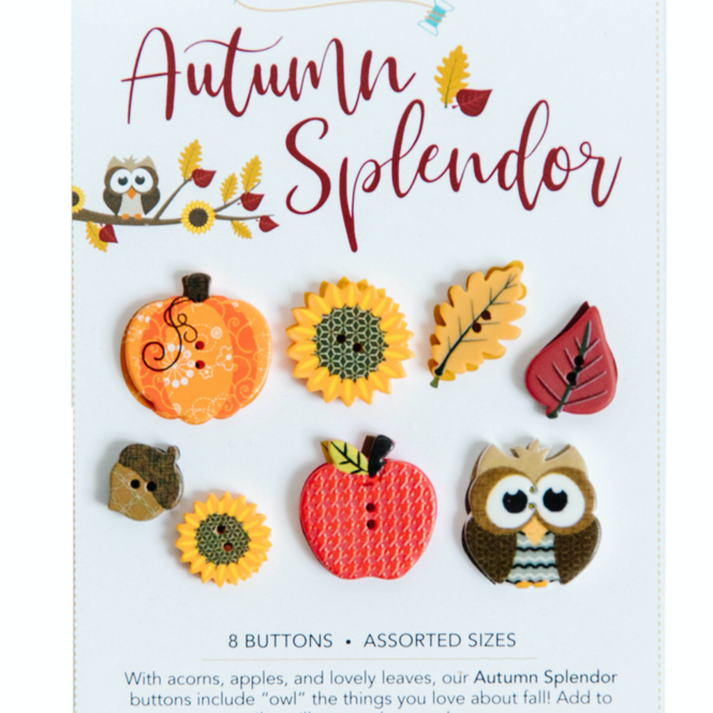 Kimberbell Autumn Splendor Buttons